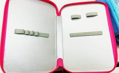 túi đựng bút ba ngăn