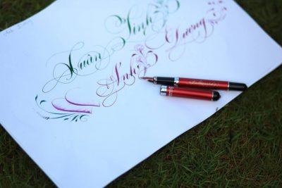 mẫu chữ viết tay đẹp