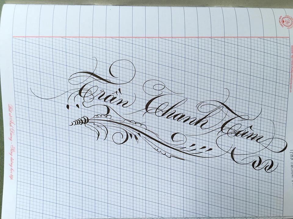 chu hoa sang tao 10 - Bộ sưu tập chữ viết tay, chữ viết hoa sáng tạo, chữ nghệ thuật đẹp