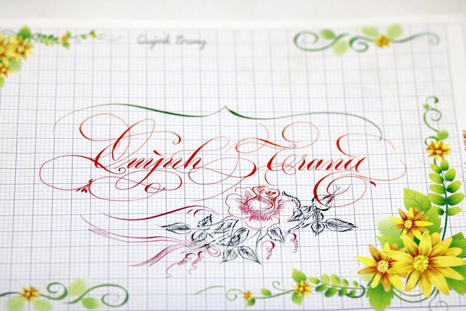 chu hoa sang tao 13 - Bộ sưu tập chữ viết tay, chữ viết hoa sáng tạo, chữ nghệ thuật đẹp