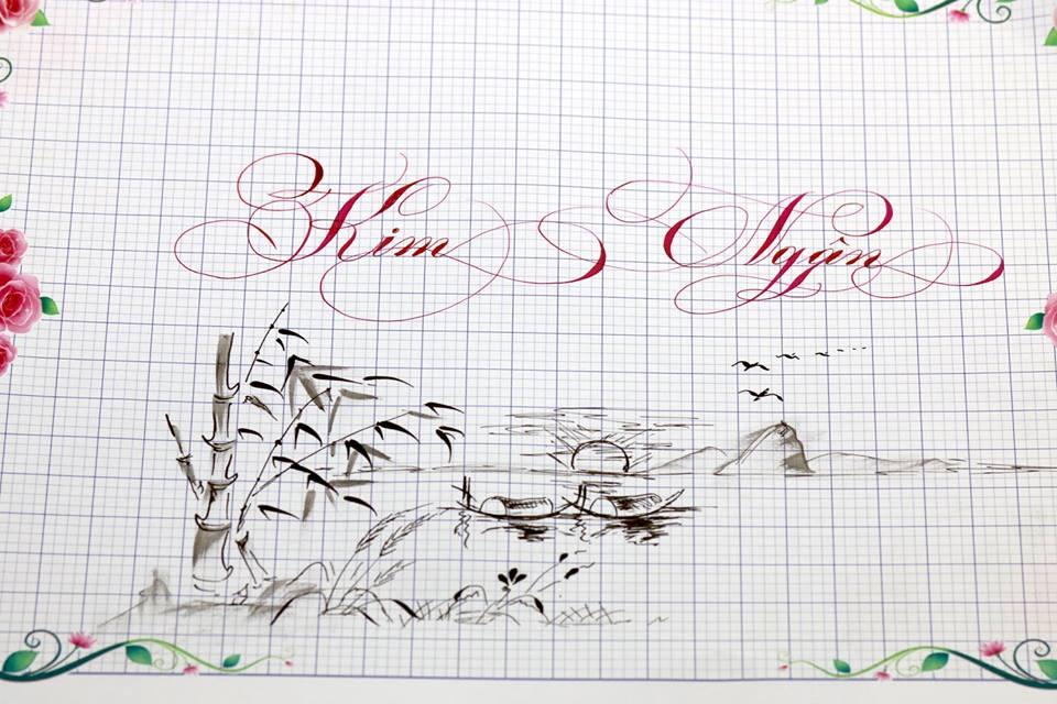 chu hoa sang tao 18 - Bộ sưu tập chữ viết tay, chữ viết hoa sáng tạo, chữ nghệ thuật đẹp