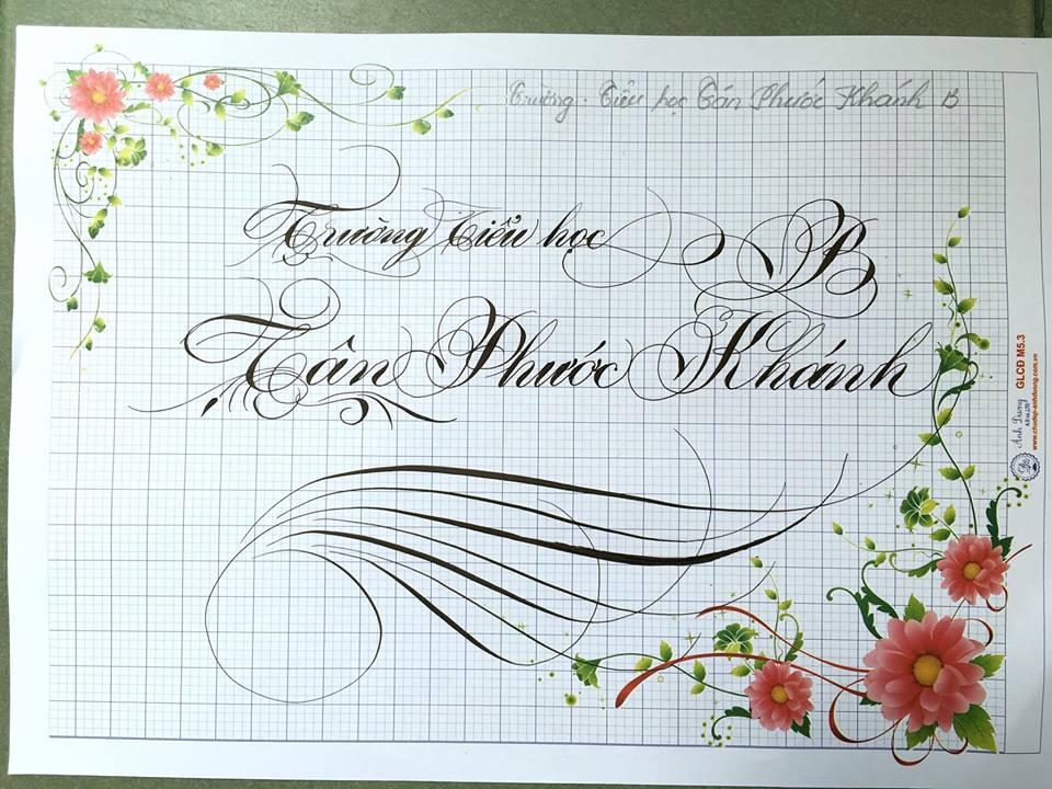 chu hoa sang tao 19 - Bộ sưu tập chữ viết tay, chữ viết hoa sáng tạo, chữ nghệ thuật đẹp