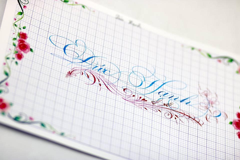 chu hoa sang tao 2 - Bộ sưu tập chữ viết tay, chữ viết hoa sáng tạo, chữ nghệ thuật đẹp