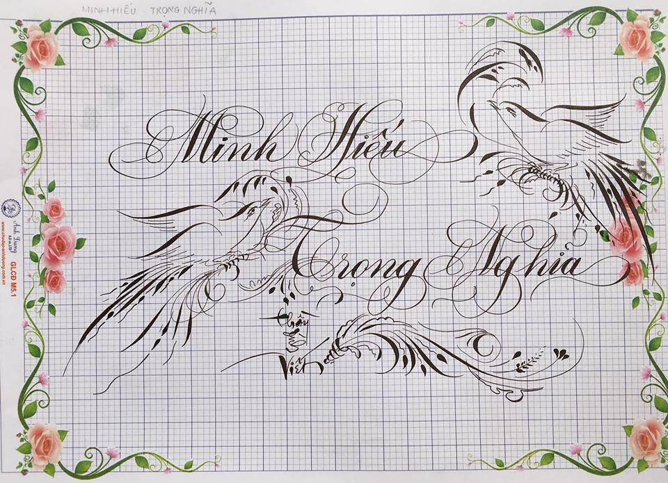 chu hoa sang tao 20 - Bộ sưu tập chữ viết tay, chữ viết hoa sáng tạo, chữ nghệ thuật đẹp