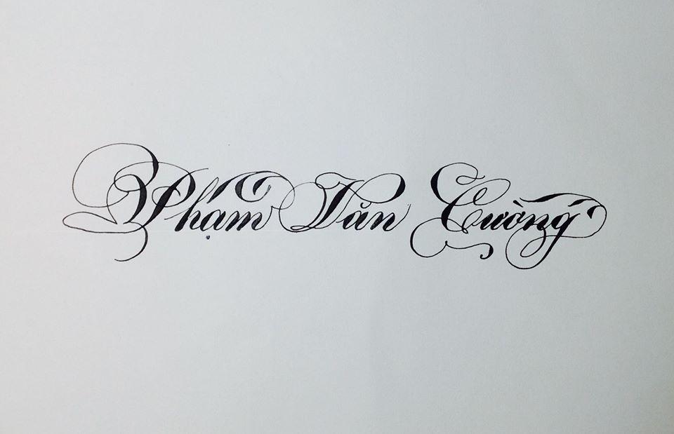 chu hoa sang tao 21 - Bộ sưu tập chữ viết tay, chữ viết hoa sáng tạo, chữ nghệ thuật đẹp