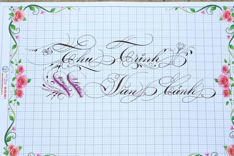 chu hoa sang tao 22 - Bộ sưu tập chữ viết tay, chữ viết hoa sáng tạo, chữ nghệ thuật đẹp