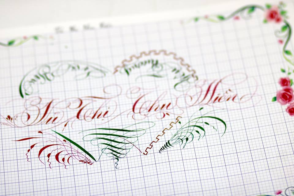 chu hoa sang tao 25 - Bộ sưu tập chữ viết tay, chữ viết hoa sáng tạo, chữ nghệ thuật đẹp