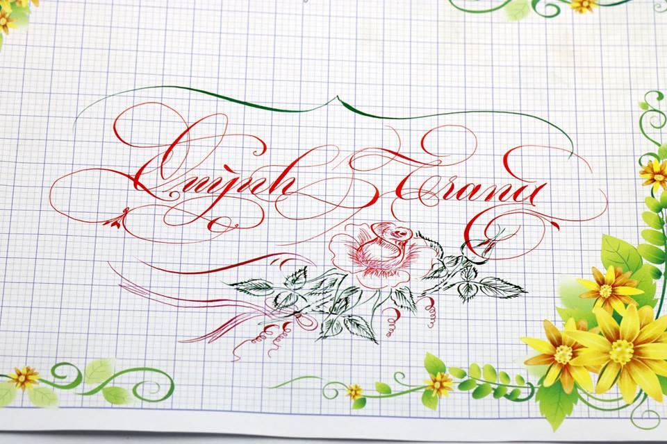 chu hoa sang tao 5 - Bộ sưu tập chữ viết tay, chữ viết hoa sáng tạo, chữ nghệ thuật đẹp