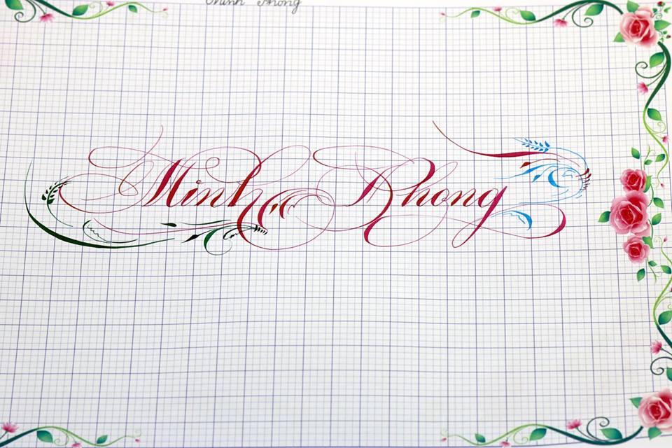 chu hoa sang tao 9 - Bộ sưu tập chữ viết tay, chữ viết hoa sáng tạo, chữ nghệ thuật đẹp