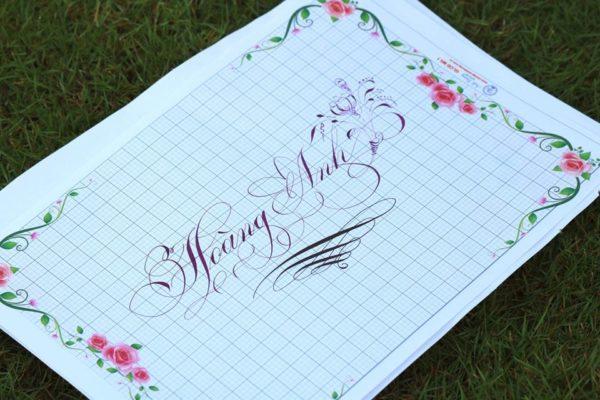 chu nghe thuat 30 600x400 - Bộ sưu tập chữ viết tay, chữ viết hoa sáng tạo, chữ nghệ thuật đẹp