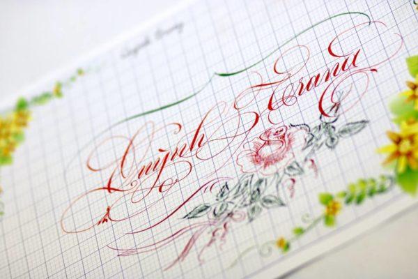 chu nghe thuat 33 600x400 - Bộ sưu tập chữ viết tay, chữ viết hoa sáng tạo, chữ nghệ thuật đẹp