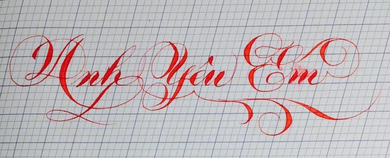 chu nghe thuat 34 800x324 - Bộ sưu tập chữ viết tay, chữ viết hoa sáng tạo, chữ nghệ thuật đẹp