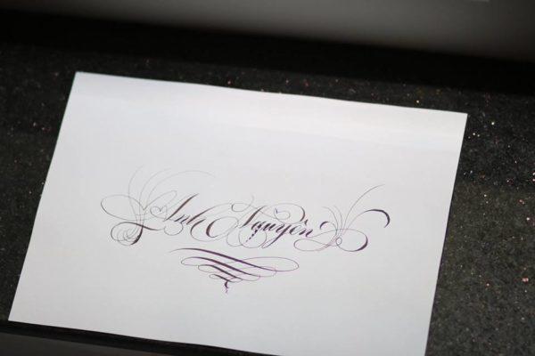 chu nghe thuat 4 600x400 - Bộ sưu tập chữ viết tay, chữ viết hoa sáng tạo, chữ nghệ thuật đẹp