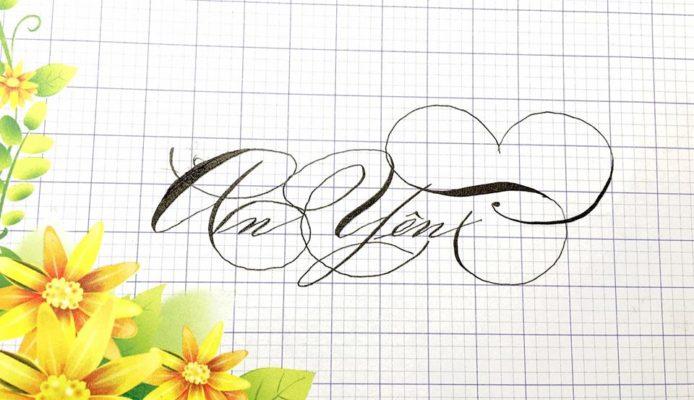 chu nghe thuat 6 694x400 - Bộ sưu tập chữ viết tay, chữ viết hoa sáng tạo, chữ nghệ thuật đẹp