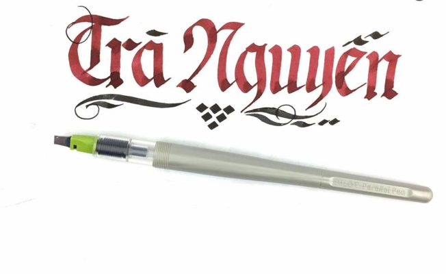 chu nghe thuat 7 652x400 - Bộ sưu tập chữ viết tay, chữ viết hoa sáng tạo, chữ nghệ thuật đẹp