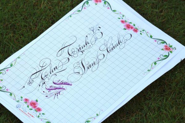 chu nghe thuat 9 600x400 - Bộ sưu tập chữ viết tay, chữ viết hoa sáng tạo, chữ nghệ thuật đẹp
