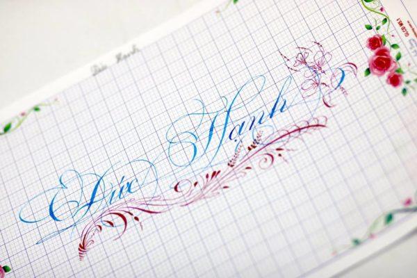 chu viet dep 1 600x400 - Bộ sưu tập chữ viết tay, chữ viết hoa sáng tạo, chữ nghệ thuật đẹp