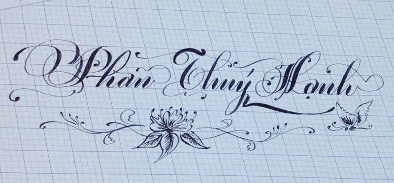 chu viet dep 12 800x373 - Bộ sưu tập chữ viết tay, chữ viết hoa sáng tạo, chữ nghệ thuật đẹp