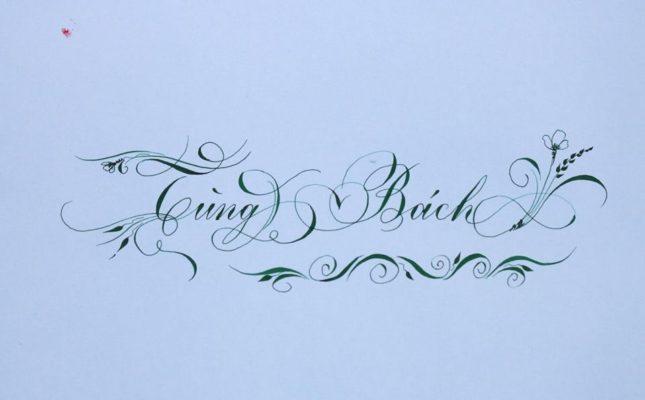 chu viet dep 15 645x400 - Bộ sưu tập chữ viết tay, chữ viết hoa sáng tạo, chữ nghệ thuật đẹp