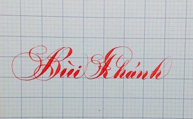 chu viet dep 16 645x400 - Bộ sưu tập chữ viết tay, chữ viết hoa sáng tạo, chữ nghệ thuật đẹp