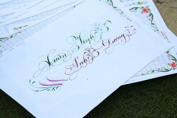 chu viet dep 17 600x400 - Bộ sưu tập chữ viết tay, chữ viết hoa sáng tạo, chữ nghệ thuật đẹp
