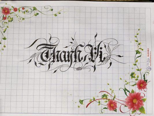 chu viet dep 18 533x400 - Bộ sưu tập chữ viết tay, chữ viết hoa sáng tạo, chữ nghệ thuật đẹp