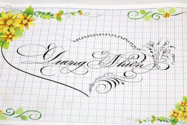 chu viet dep 19 600x400 - Bộ sưu tập chữ viết tay, chữ viết hoa sáng tạo, chữ nghệ thuật đẹp