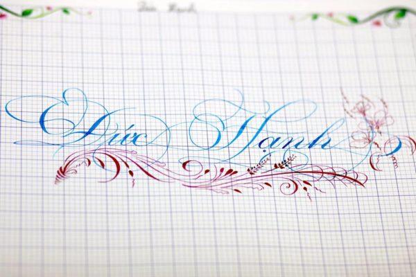 chu viet dep 20 600x400 - Bộ sưu tập chữ viết tay, chữ viết hoa sáng tạo, chữ nghệ thuật đẹp