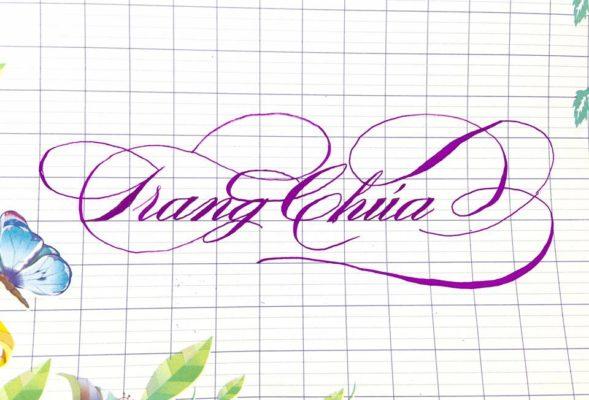 chu viet dep 21 589x400 - Bộ sưu tập chữ viết tay, chữ viết hoa sáng tạo, chữ nghệ thuật đẹp