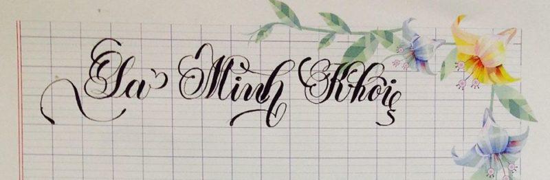 chu viet dep 22 800x262 - Bộ sưu tập chữ viết tay, chữ viết hoa sáng tạo, chữ nghệ thuật đẹp