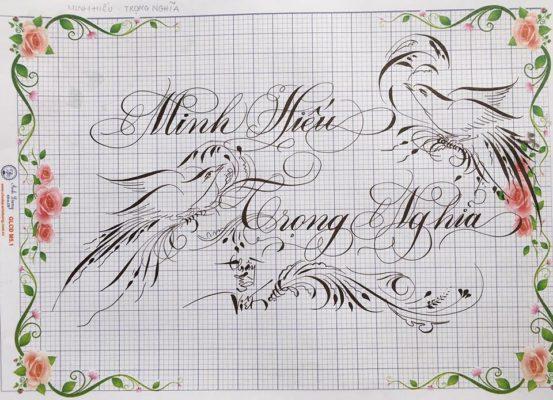 chu viet dep 24 553x400 - Bộ sưu tập chữ viết tay, chữ viết hoa sáng tạo, chữ nghệ thuật đẹp