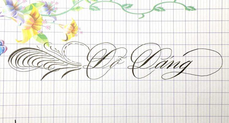 chu viet dep 27 746x400 - Bộ sưu tập chữ viết tay, chữ viết hoa sáng tạo, chữ nghệ thuật đẹp