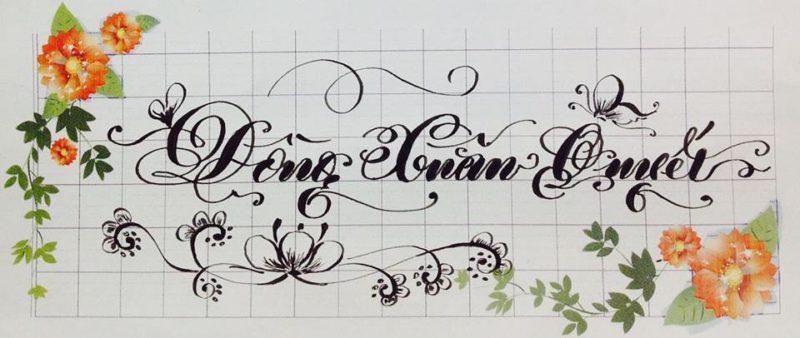 chu viet dep 28 800x338 - Bộ sưu tập chữ viết tay, chữ viết hoa sáng tạo, chữ nghệ thuật đẹp