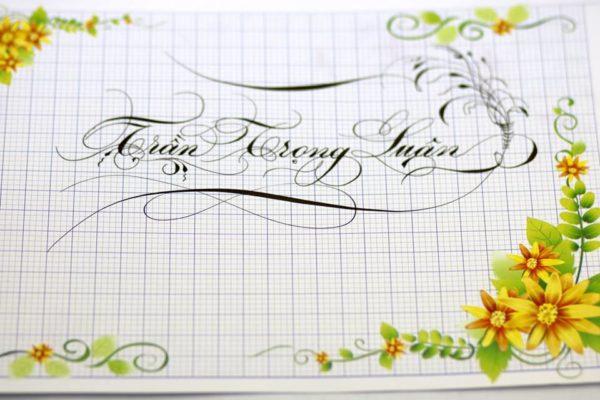 chu viet dep 3 600x400 - Bộ sưu tập chữ viết tay, chữ viết hoa sáng tạo, chữ nghệ thuật đẹp
