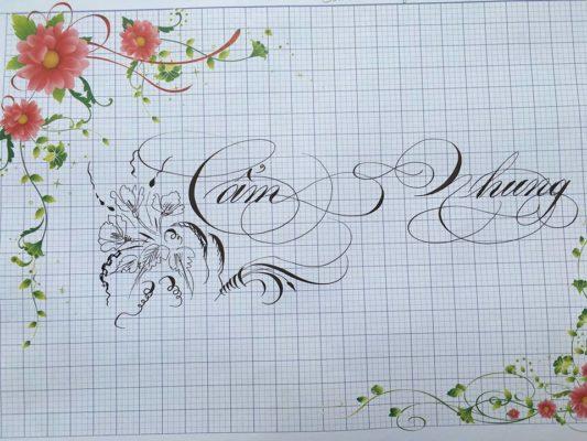chu viet dep 35 533x400 - Bộ sưu tập chữ viết tay, chữ viết hoa sáng tạo, chữ nghệ thuật đẹp