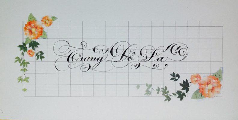 chu viet dep 37 792x400 - Bộ sưu tập chữ viết tay, chữ viết hoa sáng tạo, chữ nghệ thuật đẹp