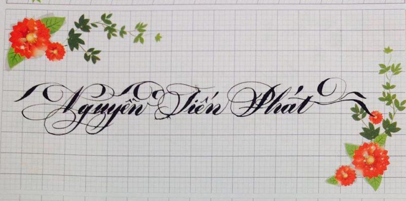 chu viet dep 4 800x396 - Bộ sưu tập chữ viết tay, chữ viết hoa sáng tạo, chữ nghệ thuật đẹp