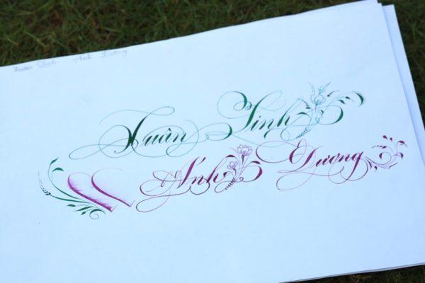 chu viet dep 40 600x400 - Bộ sưu tập chữ viết tay, chữ viết hoa sáng tạo, chữ nghệ thuật đẹp