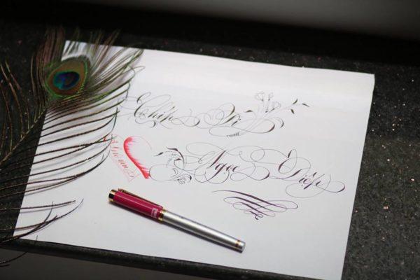 chu viet dep 42 600x400 - Bộ sưu tập chữ viết tay, chữ viết hoa sáng tạo, chữ nghệ thuật đẹp