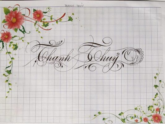 chu viet dep 43 533x400 - Bộ sưu tập chữ viết tay, chữ viết hoa sáng tạo, chữ nghệ thuật đẹp
