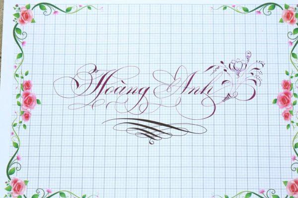 chu viet dep 44 600x400 - Bộ sưu tập chữ viết tay, chữ viết hoa sáng tạo, chữ nghệ thuật đẹp