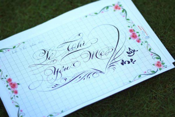 chu viet dep 46 600x400 - Bộ sưu tập chữ viết tay, chữ viết hoa sáng tạo, chữ nghệ thuật đẹp