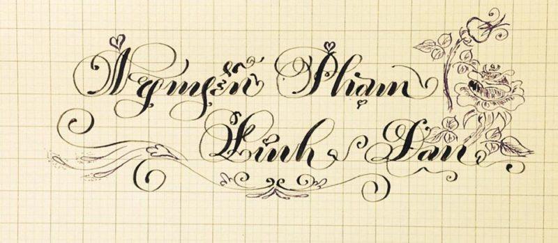 chu viet dep 5 800x349 - Bộ sưu tập chữ viết tay, chữ viết hoa sáng tạo, chữ nghệ thuật đẹp