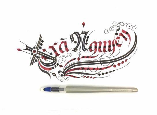 chu viet dep 53 545x400 - Bộ sưu tập chữ viết tay, chữ viết hoa sáng tạo, chữ nghệ thuật đẹp