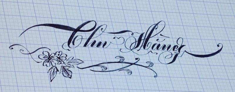 chu viet dep 54 800x316 - Bộ sưu tập chữ viết tay, chữ viết hoa sáng tạo, chữ nghệ thuật đẹp