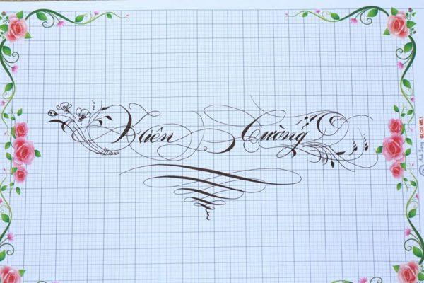 chu viet dep 55 600x400 - Bộ sưu tập chữ viết tay, chữ viết hoa sáng tạo, chữ nghệ thuật đẹp