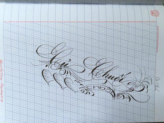 chu viet dep 57 533x400 - Bộ sưu tập chữ viết tay, chữ viết hoa sáng tạo, chữ nghệ thuật đẹp