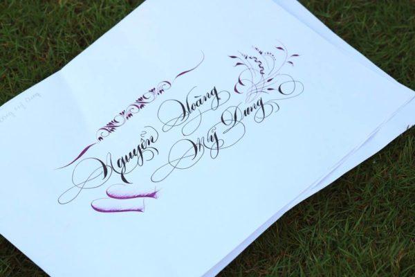 chu viet dep 59 600x400 - Bộ sưu tập chữ viết tay, chữ viết hoa sáng tạo, chữ nghệ thuật đẹp