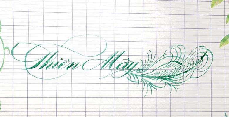 chu viet dep 6 779x400 - Bộ sưu tập chữ viết tay, chữ viết hoa sáng tạo, chữ nghệ thuật đẹp