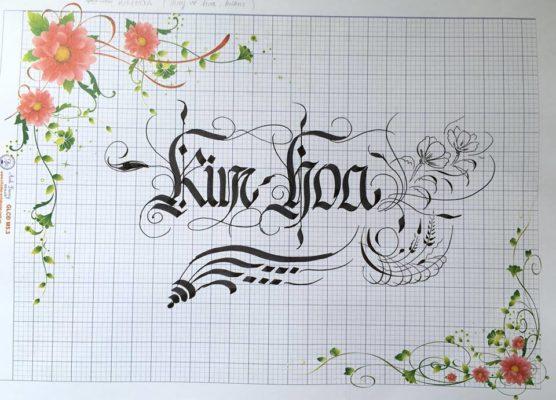 chu viet dep 61 556x400 - Bộ sưu tập chữ viết tay, chữ viết hoa sáng tạo, chữ nghệ thuật đẹp
